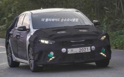 Kia K3 GT / Cerato Hatch Facelift Spied
