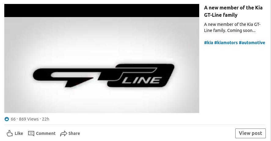 kia gt-line