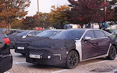 Kia K7 GL3 Spied In & Out