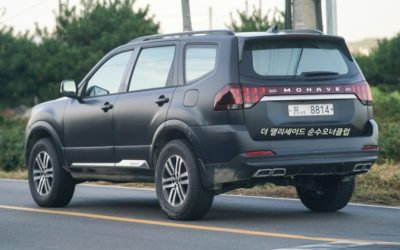 Is this Kia New Large SUV Test Mule?