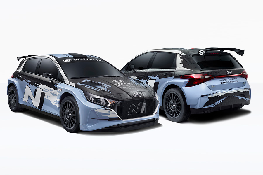 Meet the Hyundai i20 N Rally2