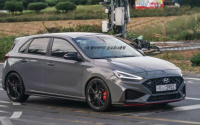 Real World Hyundai i30 N Facelift Pictures