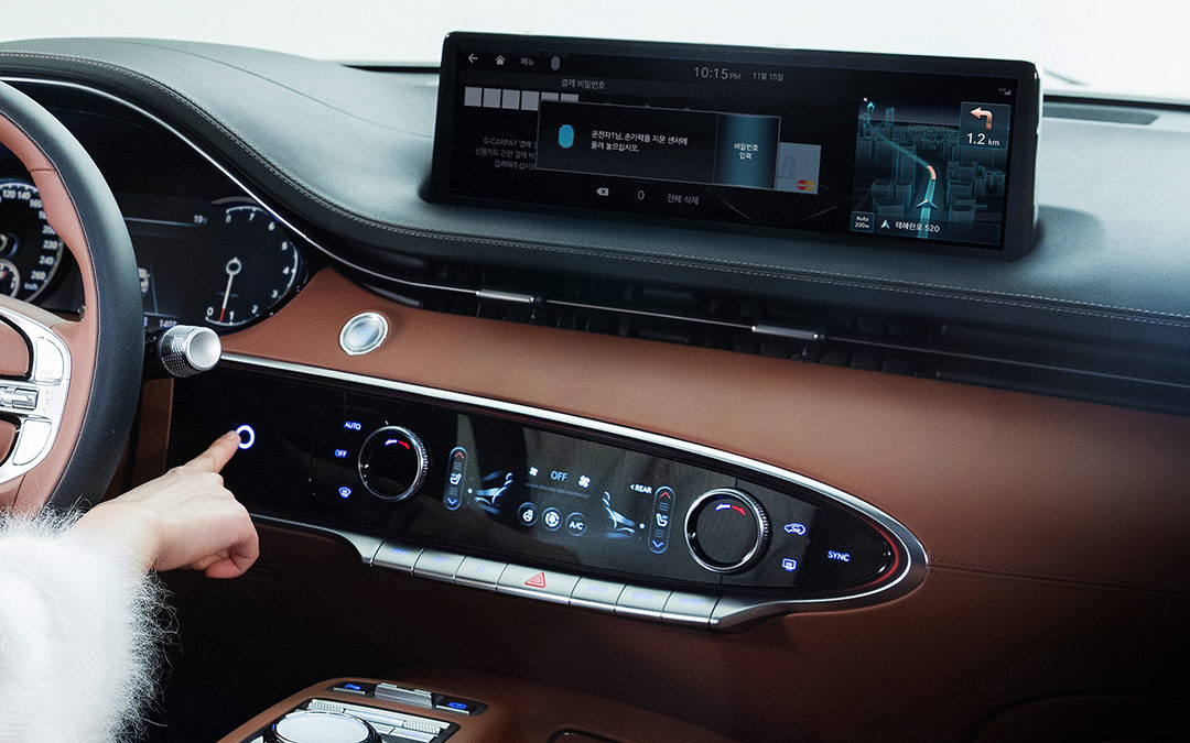 Genesis Announces First in-vehicle Fingerprint in the GV70