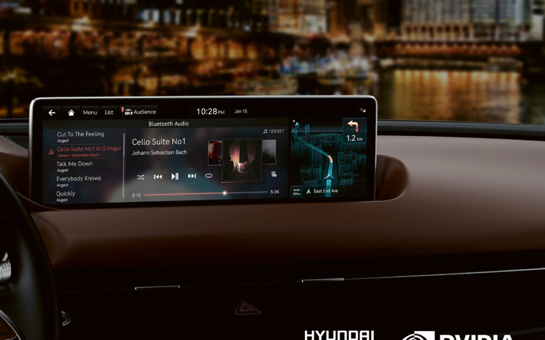 HMG to launch NVIDIA DRIVE 'connected car' IT & AI platform across all future Hyundai, Kia and Genesis