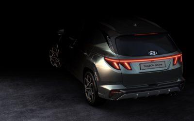 Hyundai Reveals First Tucson N-Line Teaser