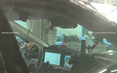 Kia CV Interior Spied, Shows Two Larger Screens
