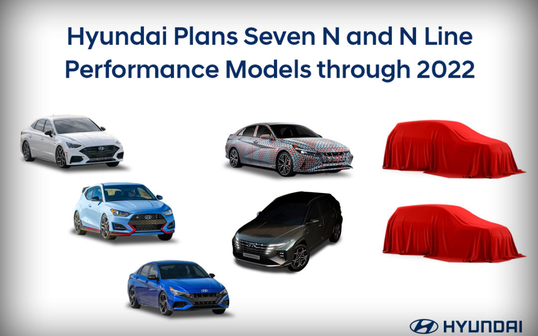 Hyundai Teases Elantra N & Announce Two Additional N / N-Line Models