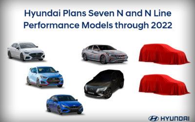 Hyundai Teases Elantra N & Announce Two Additional N / N-Line Models