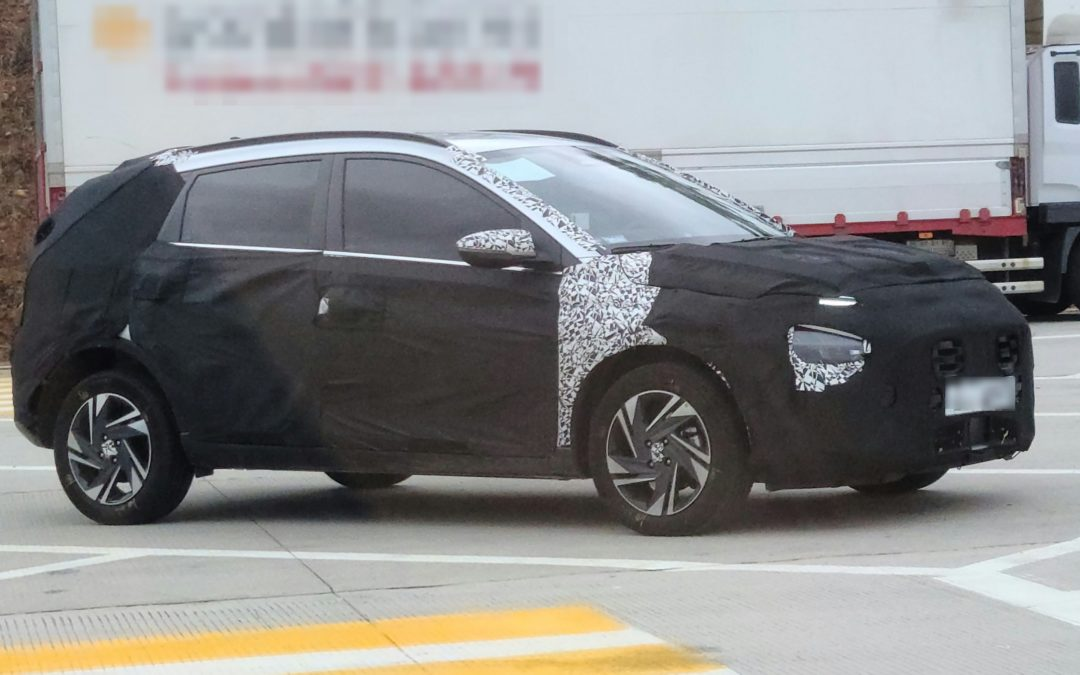 New Hyundai Bayon SUV Spied in South Korea