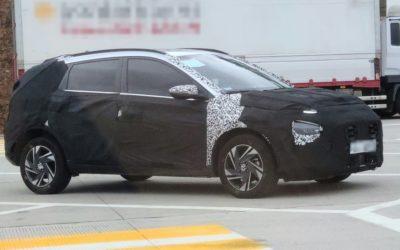 New Hyundai Bayon SUV Spied in South Korea