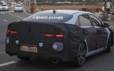 Hyundai Elantra N Spied in South Korea