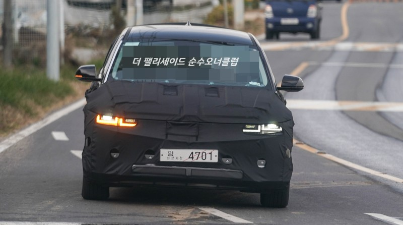 Hyundai Ioniq 5 Production Lights Spied Up Close