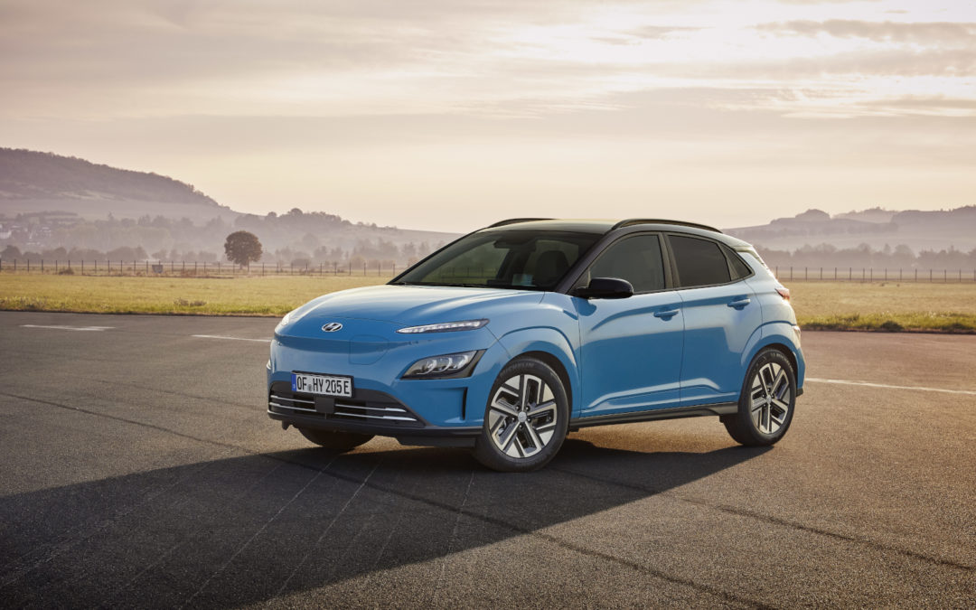 Hyundai Kona Electric Received a Facelift