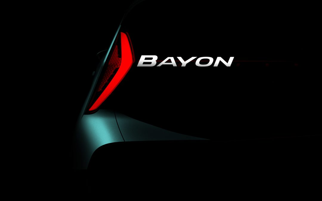 "Hyundai Announced ""Bayon"" as an All-New B-SUV"