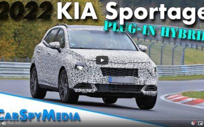Kia Sportage PHEV Spied Testing at the Nürburgring