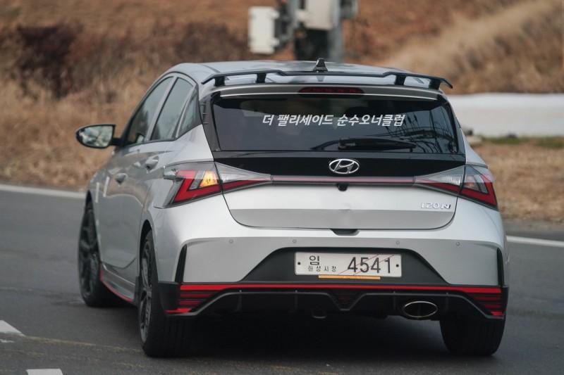 Hyundai i20 N Caught in the Wild