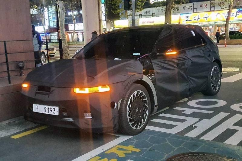 Hyundai Ioniq 5 Spied Inside