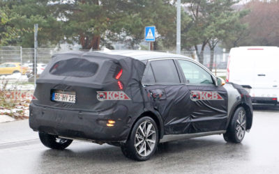 2022 Kia Niro Spied in Europe