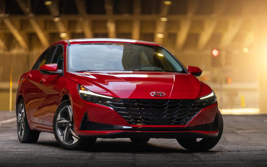 Hyundai Elantra Named Finalist For 2021 North American Car of the Year