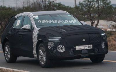Genesis eGV70 Spied in South Korea