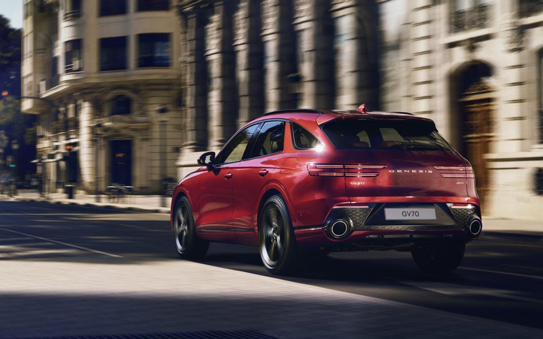 Genesis GV70 Debuts as the Most Advanced Urban Luxury SUV