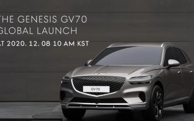 Genesis GV70 Global Launch Livestream: Watch it Here!