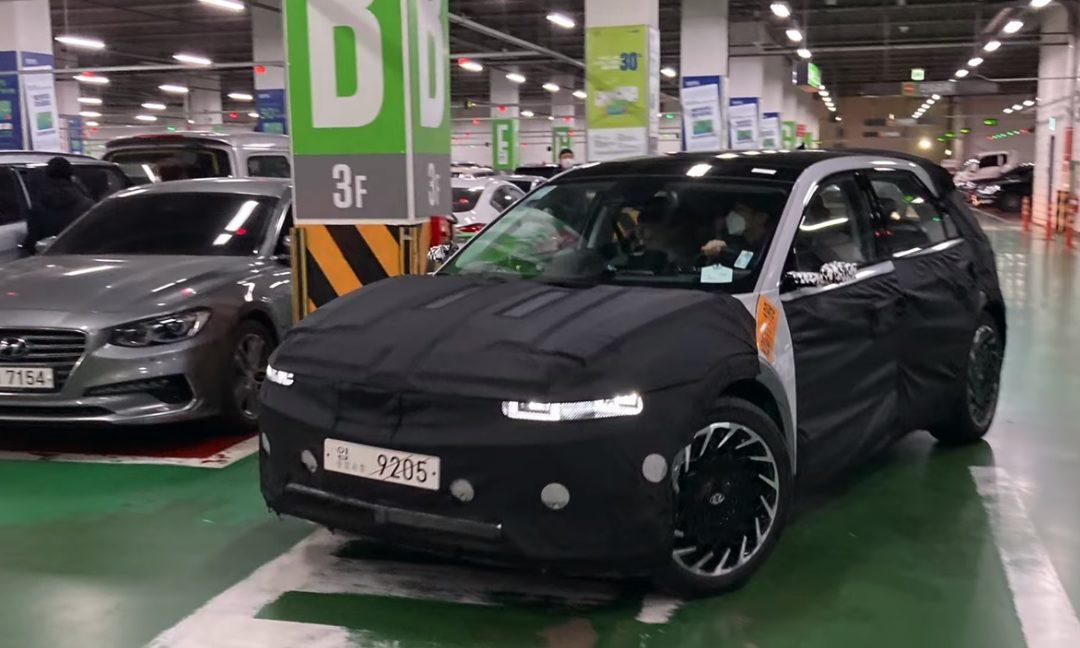 Hyundai Ioniq 5 Spied with Camera Mirrors