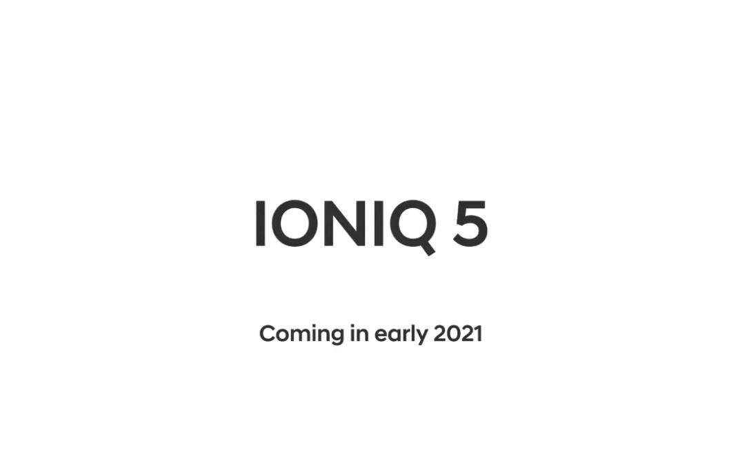 Hyundai Teases IONIQ 5, to debut Early 2021