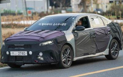 2022 Kia Forte Facelift Spied