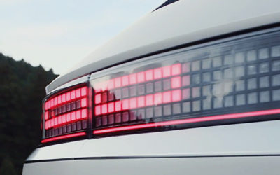 Hyundai IONIQ 5 Taillight Detail