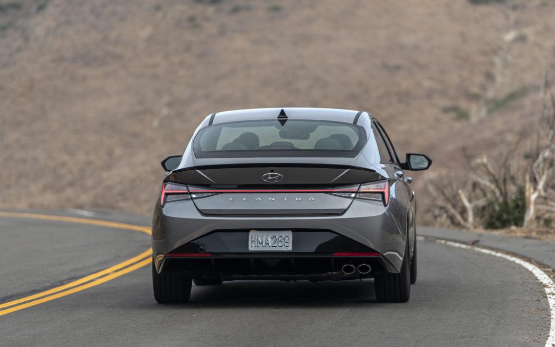 Hyundai Elantra Named 2021 North American Car of the Year