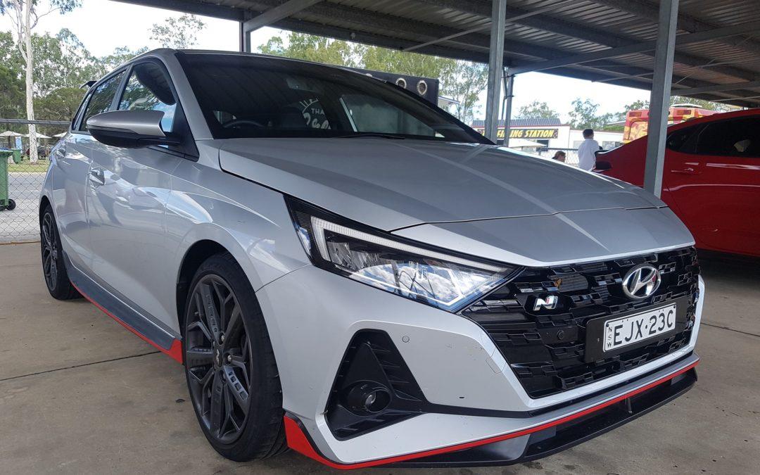 Hyundai i20 N Real Pics at N Festival in Australia