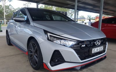 Hyundai i20 N Real Pics at N Festival in Australia
