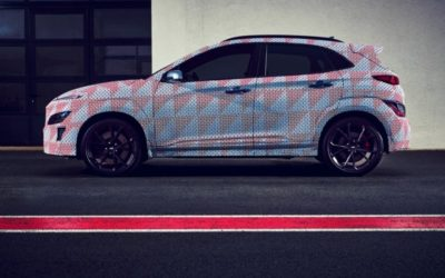 Hyundai Teases Kona N High-Performance SUV