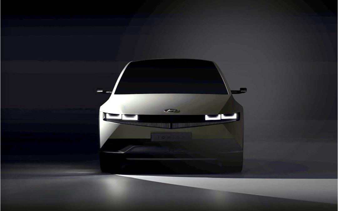 Hyundai Teases IONIQ5, to Debut in February