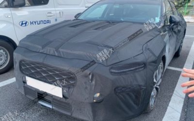 New Kia K8 Spied In & Out