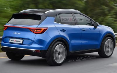 Another Kia Sportage Rendering