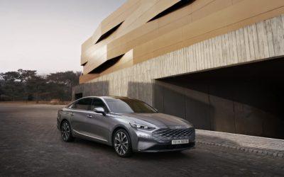 K8, a Modern Innovative Sedan, Heralds the Newly Transformed Kia Brand