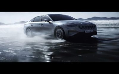 First 2022 Kia K8 TV Commercial