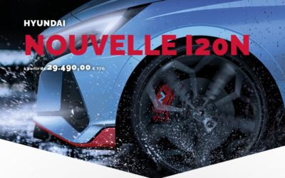 Hyundai i20 N Priced in Luxembourg