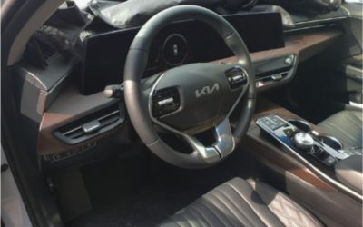 New Kia K8 Interior Clear Pictures