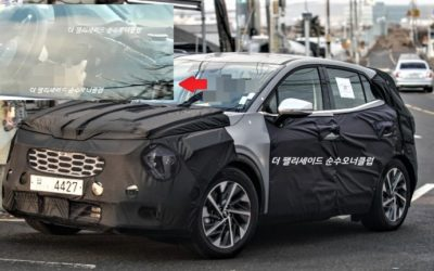 Kia Sportage Spied, 1st Time We Can See the Interior