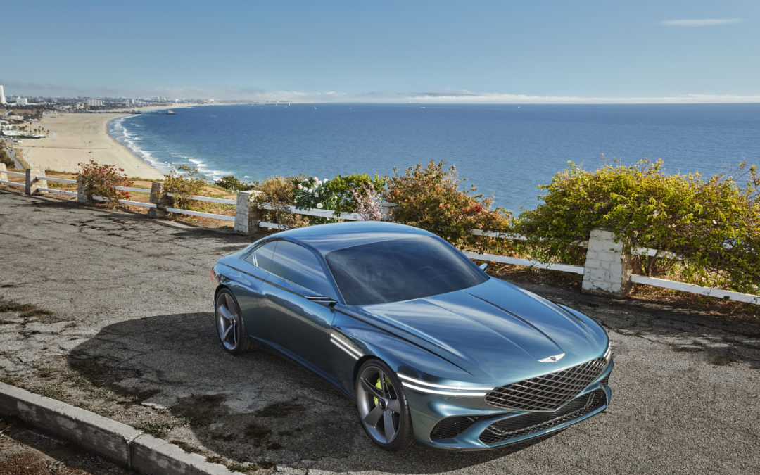 Genesis X Concept Revealed as Widebody Electric Coupe with Familiar Styling