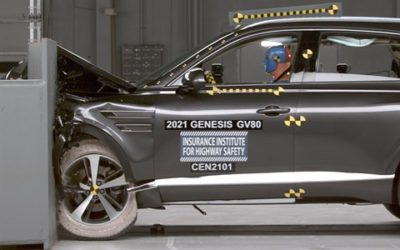 Genesis GV80 Earns Top Safety Pick+
