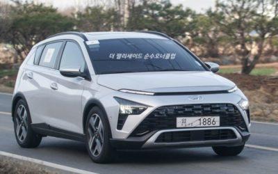Hyundai Bayon Spied in the Wild
