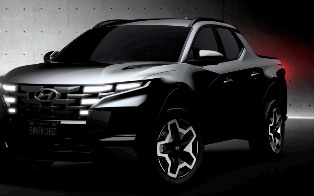 Hyundai Releases Sketches of Santa Cruz
