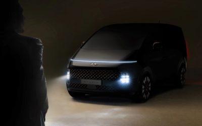 Hyundai Reveals First Glimpse of Staria MPV