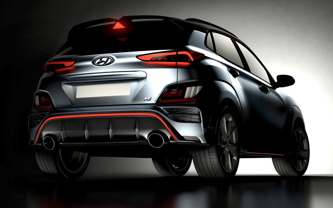 Hyundai Reveals First Glimpse of Kona N