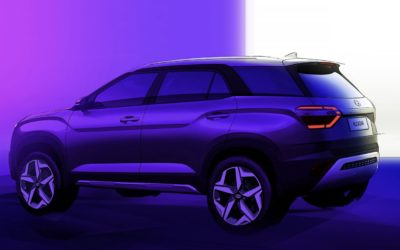 Hyundai Teases Alcazar SUV for BRIC Markets