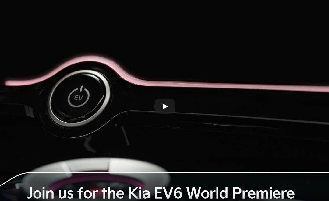 Join us for the Kia EV6 World Premiere